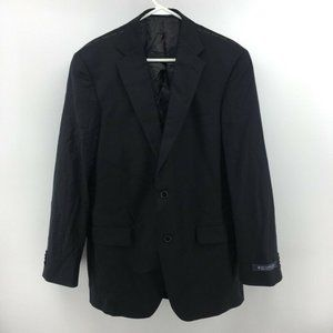 Hart Schaffner Marx Mens Two Button Suit Jacket